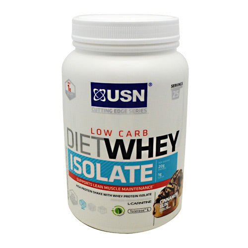 Ultimate Sports Nutrition, Ultimate Sports Nutrition Cutting Edge Series Diet Whey Isolate Cinnamon Bun 25 Servings, 25 Servings, Cinnamon Bun