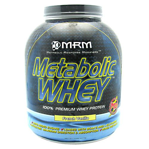 MRM, MRM Metabolic Whey French Vanilla 5.0 lbs (2270 g), 5.0 lbs (2270 g), French Vanilla