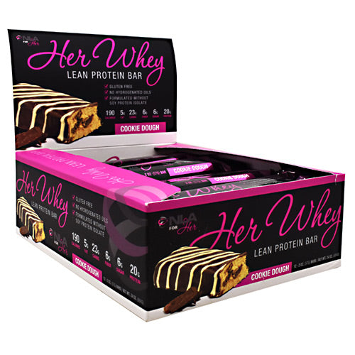 NLA For Her, NLA For Her Her Whey Bar Cookie Dough 12 - 2 oz Bars, 12 - 2 oz Bars, Cookie Dough