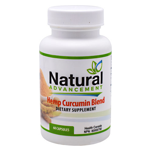 EastWest Science, EastWest Science Natural Advancement Hemp Curcumin Blend  60 Capsules, 60 Capsules, Original or Unflavored