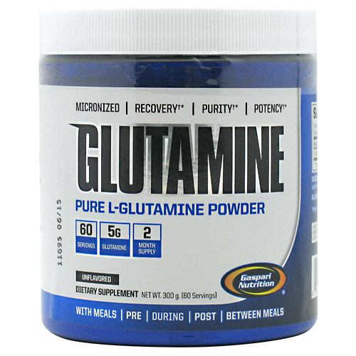 Gaspari Nutrition, Gaspari Nutrition Glutamine  300 Grams, 300 Grams, Original or Unflavored