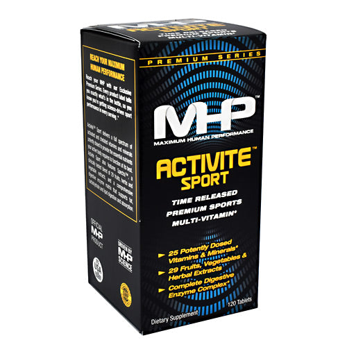 MHP, MHP Premium Series Activite Sport  120 Tablets, 120 Tablets, Original or Unflavored