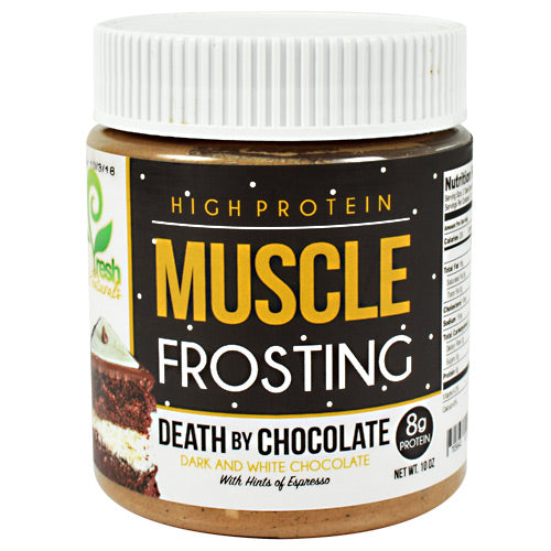 You Fresh Naturals, You Fresh Naturals Muscle Frosting Death By Chocolate 10 oz, 10 oz, Death By Chocolate