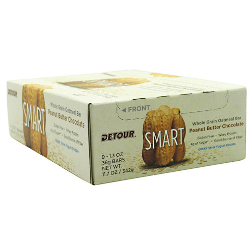 Forward Foods, Forward Foods Detour Smart Peanut Butter Chocolate 9-1.3 oz / 38 g Bars, 9-1.3 oz / 38 g Bars, Peanut Butter Chocolate