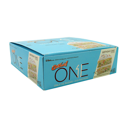 ISS, ISS OhYeah! One Bar Lemon Cake 12 - 2.12 OZ Bars, 12 - 2.12 OZ Bars, Lemon Cake