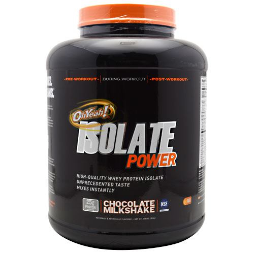 ISS, ISS OhYeah! Isolate Power Vanilla Creme 4 lbs (1814g), 4 lbs (1814g), Vanilla Creme