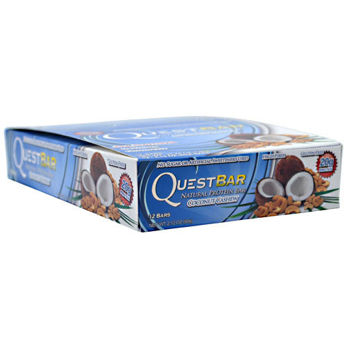 Quest Protein Bar: Coconut Cashew (4, 8, or 12 Pack)