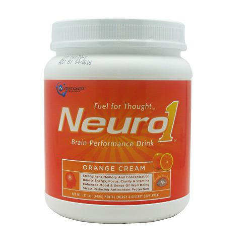 Nutrition53, Nutrition53 Neuro1, 20, Orange Cream
