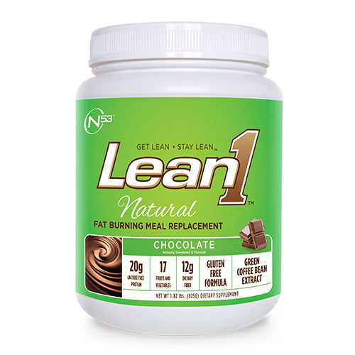 Nutrition53, Nutrition53 Lean 1 Natural, 1.82, Chocolate