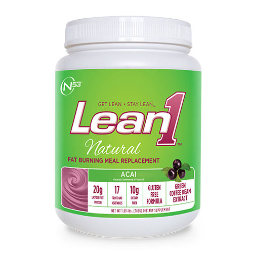 Nutrition53, Nutrition53 Lean 1 Natural, 1.69, Acai