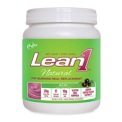 Nutrition53, Nutrition53 Lean 1 Natural, 1.12, Acai