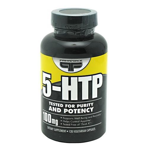 Primaforce, Primaforce 5-HTP  120 Vegetarian Capsules, 120 Vegetarian Capsules, Original or Unflavored