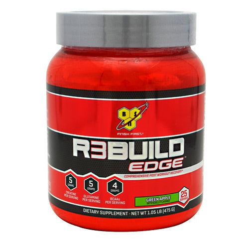 BSN, BSN Rebuild Edge Green Apple 25 Servings, 25 Servings, Green Apple