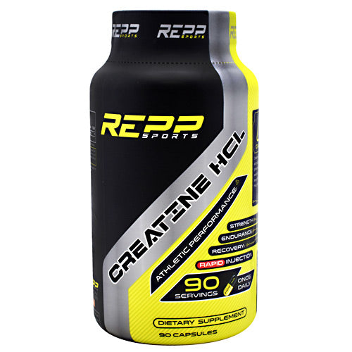 Repp Sports, Repp Sports Creatine HCL  90 Capsules, 90 Capsules, Original or Unflavored