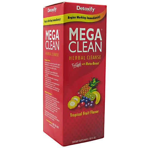 Detoxify LLC, Detoxify LLC Mega Clean Tropical Fruit 32  fl oz, 32  fl oz, Tropical Fruit