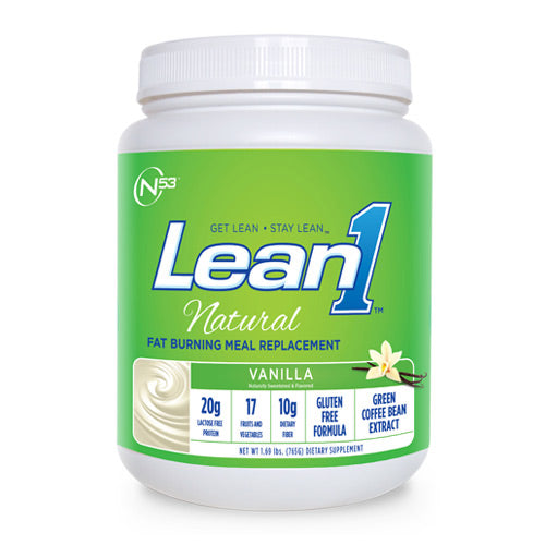 Nutrition53, Nutrition53 Lean 1 Natural, 1.69, Vanilla