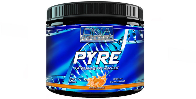 DNA Anabolics, DNA: Pyre, Extreme Preworkout 50 Servings, Pre Workout - MuscleMart Plus