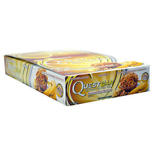 Quest Protein Bar: Banana Nut Muffin (Pack of 4, 8, or 12)