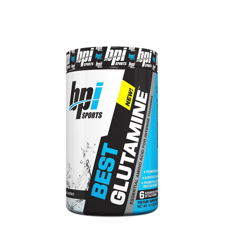 BPI, BPI Best Glutamine, Unflavored, 50 Servings, 50 Servings, Unflavored