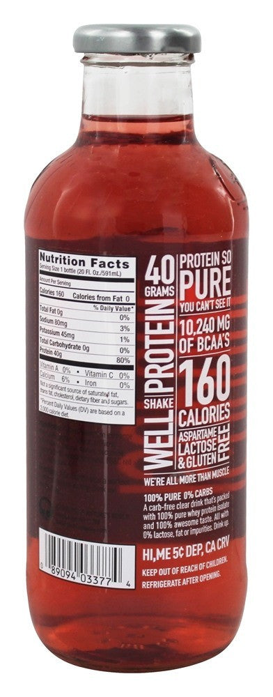 Nature's Best, Natures Best, Isopure 0 Carb, Passion Fruit, Case of 12, Case of 12, Passion Fruit