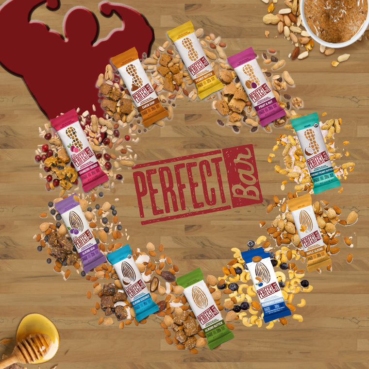 Perfect Bar, Perfect Bar, 10 Flavors, ,