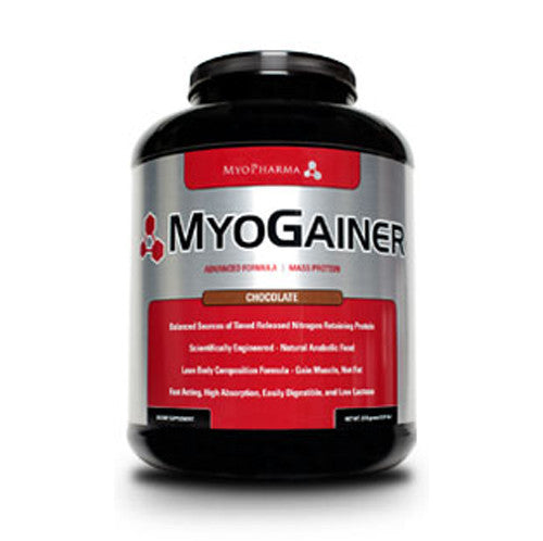 MyoPharma: MyoGainer, Mass Protein Weight Gainer, 5 lbs