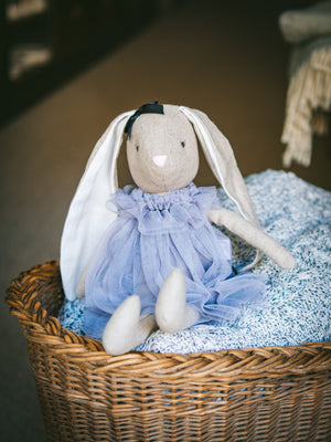 Alimrose Baby Bea Bunny Lavender Weston Table