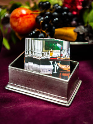 MATCH Pewter Sugar Packet and Business Card Holder