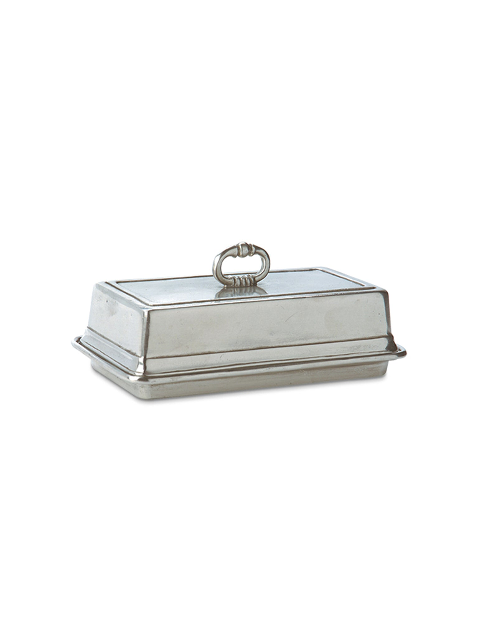 MATCH Pewter Covered Butter Dish Weston Table