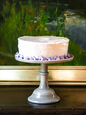 Mosser Marble Cake Stand Weston Table