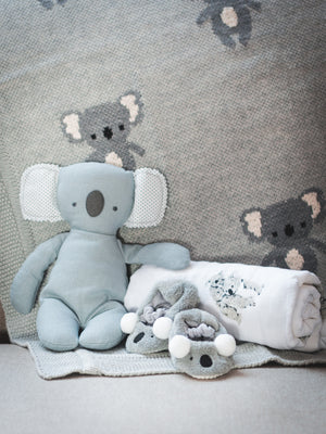 WT Baby Koala Rescue Gift Box Grey Weston Table