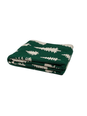 In2Green Eco Fir Tree Reversible Throw Weston Table