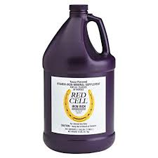 RED CELL HORSE VITAMIN & MINERAL SUPPLEMENT GALLON