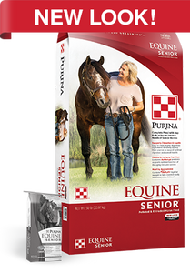 PURINA EQUINE SENIOR 50#