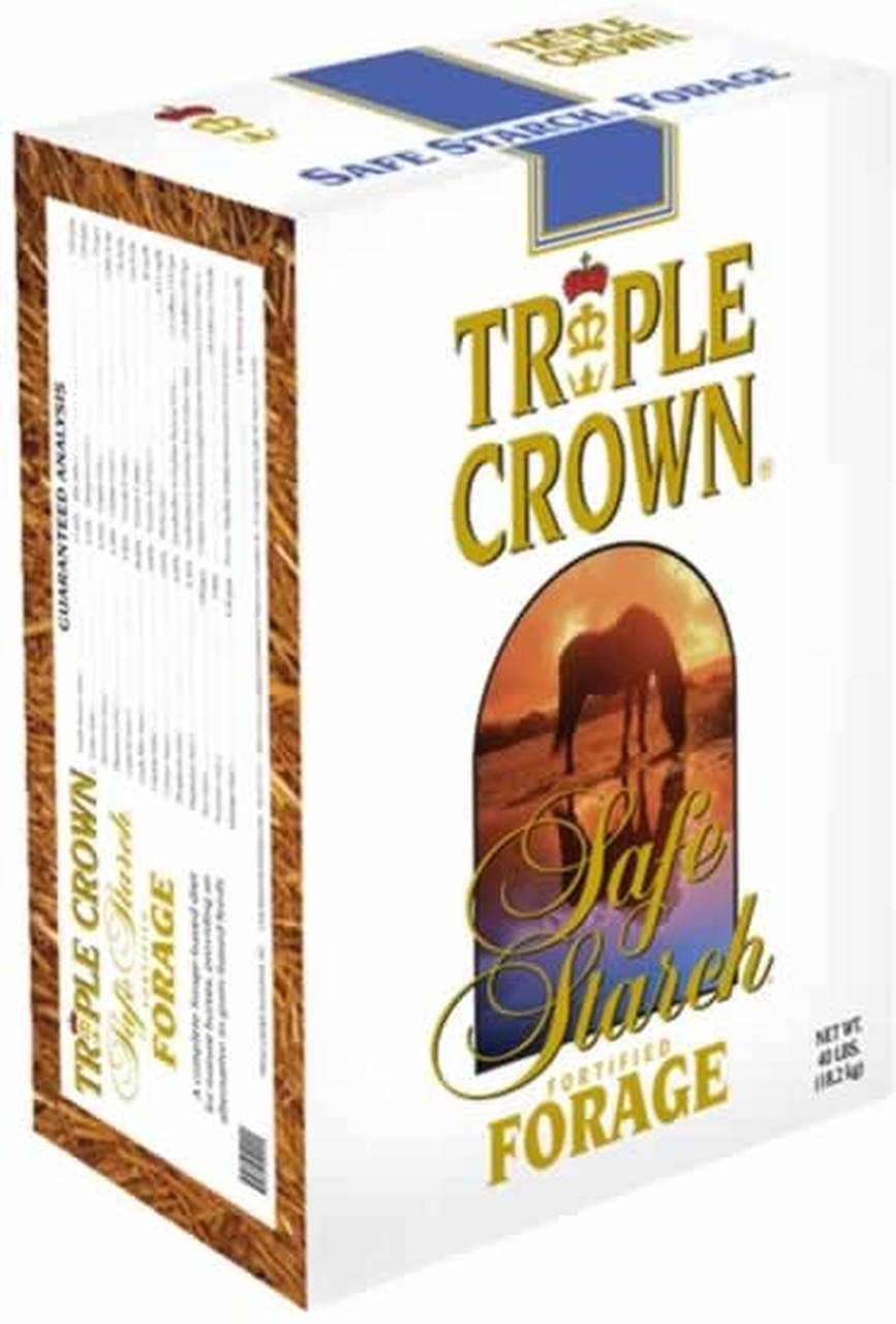 TRIPLE CROWN SAFE STARCH FORIAGE 50#