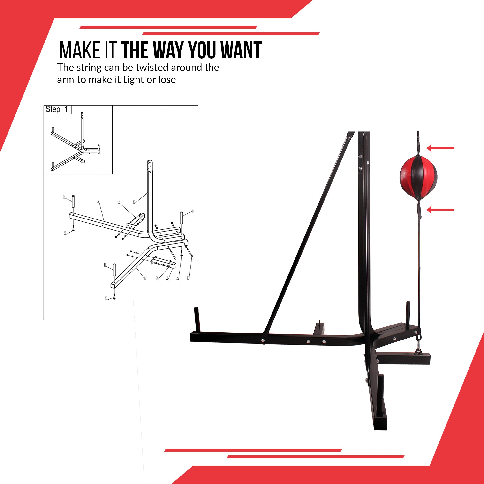Xn8 Sports Punch Bag Stand
