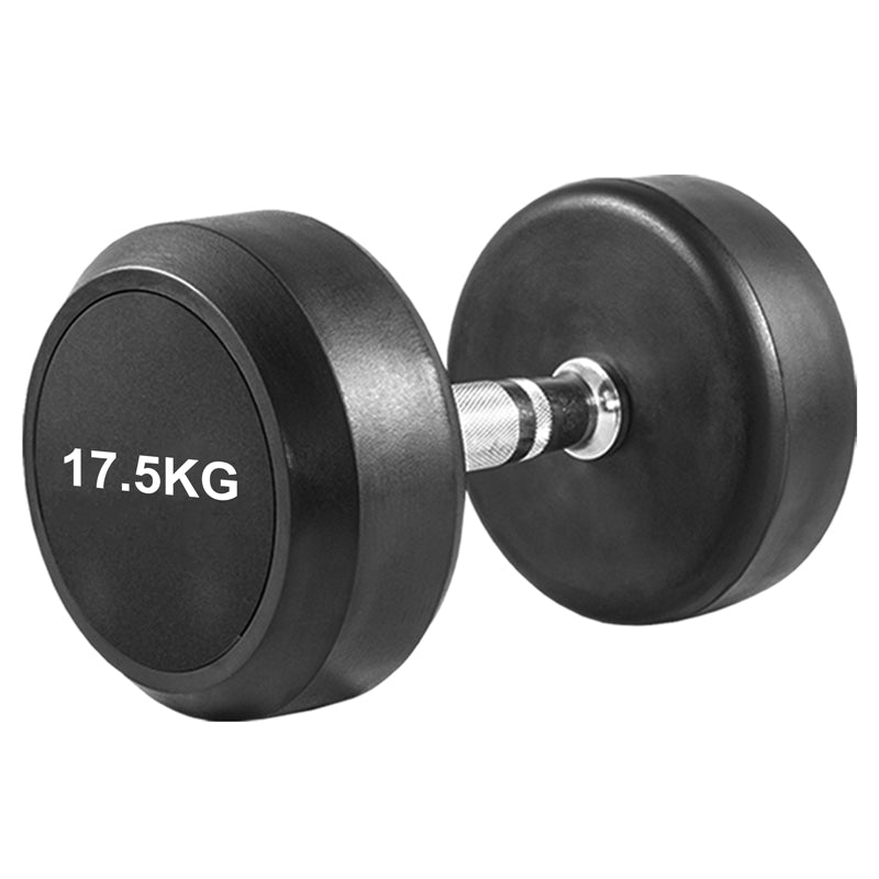 XN8 Sports Rubber Dumbbell Set With Rack