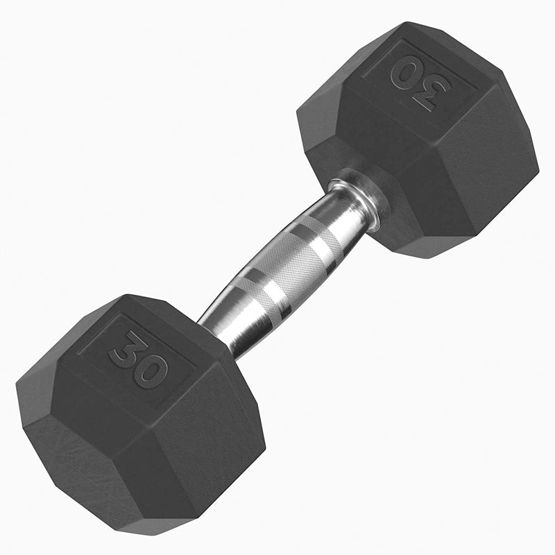 Xn8 Sports Rubber Hex Dumbbell
