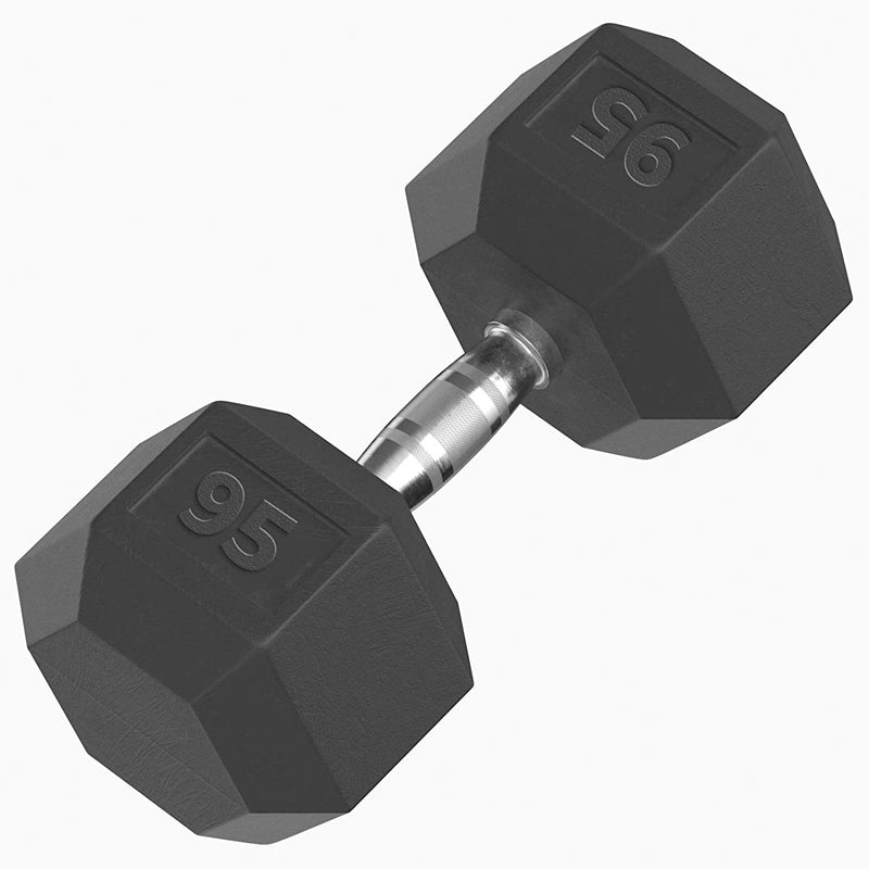 Xn8 Sports Rubber Hex Dumbbells