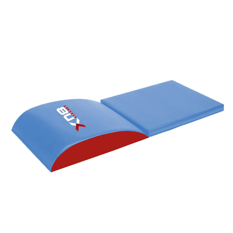Xn8 Sports Cheap Exercise Mats Long Blue