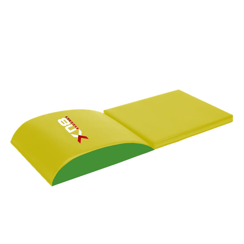 Xn8 Sports Thick Exercise Mats Yellow