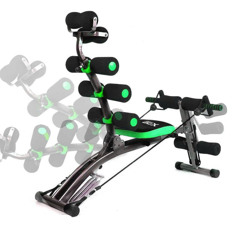 Xn8 Sports Ab Rocket Exercise Machine Green