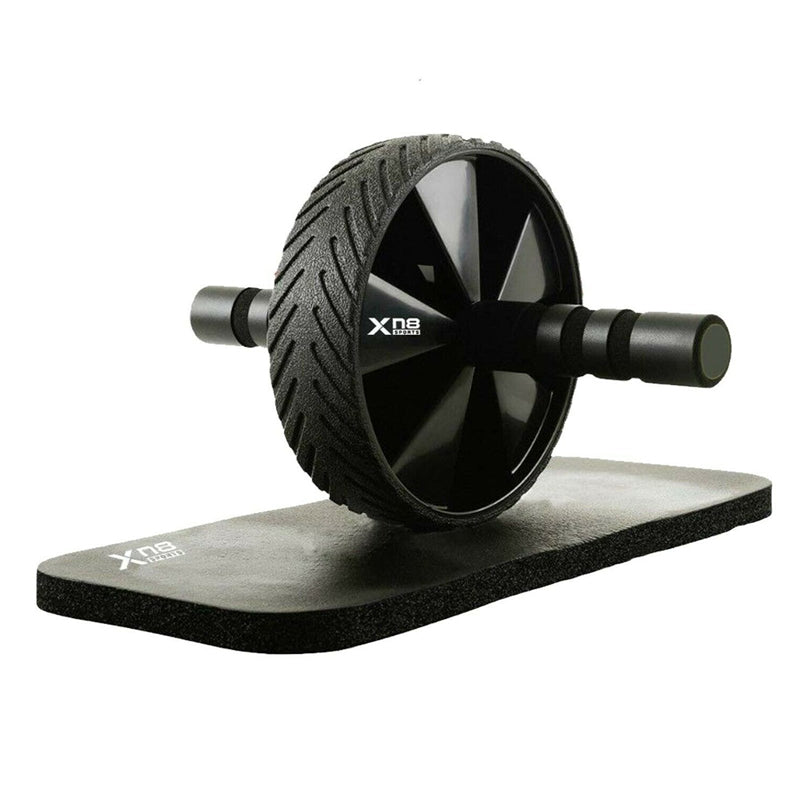 Xn8 Sports Ab Wheeler Roller Black