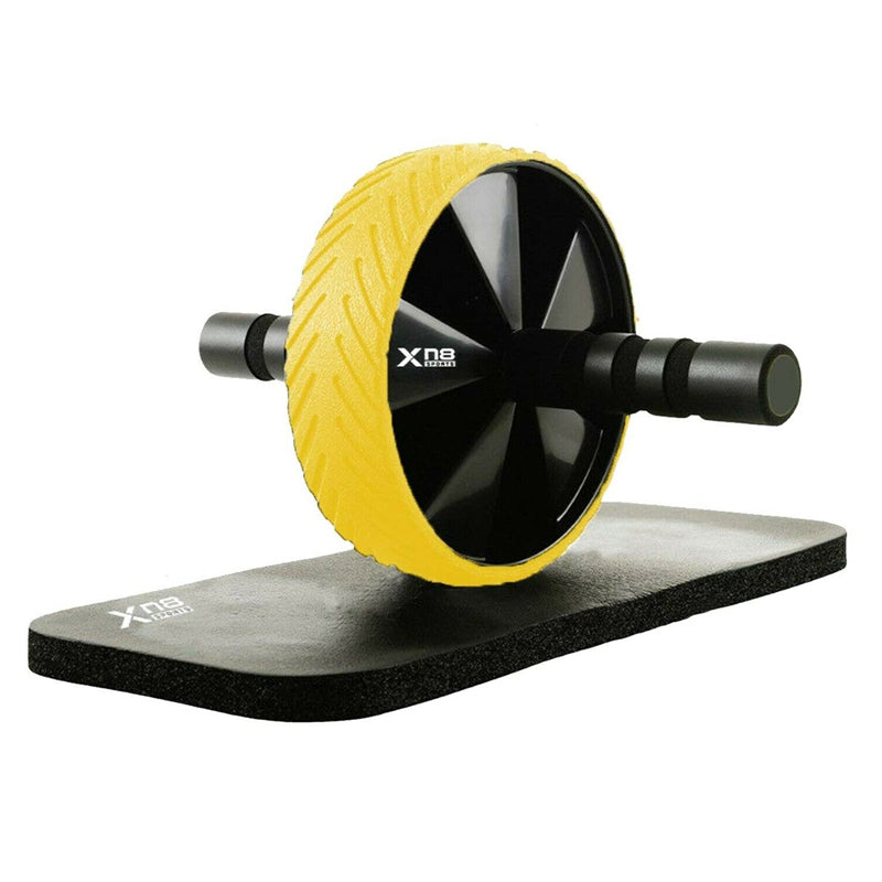 Xn8 Sports Ab Wheel Roller Yellow