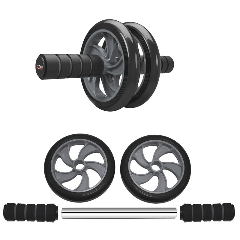 Xn8 Sports Ab Wheeler Roller Grey