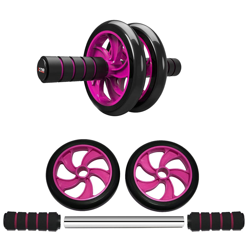 Xn8 Sports Ab Wheel Machine pink