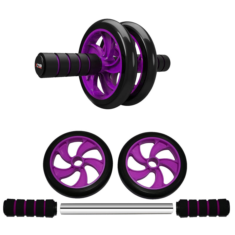 Xn8 Sports Ab Wheel Roller Purple