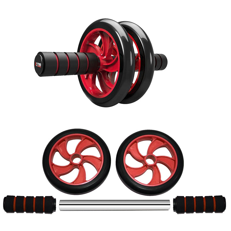 Xn8 Sports Ab Wheel Machine Red