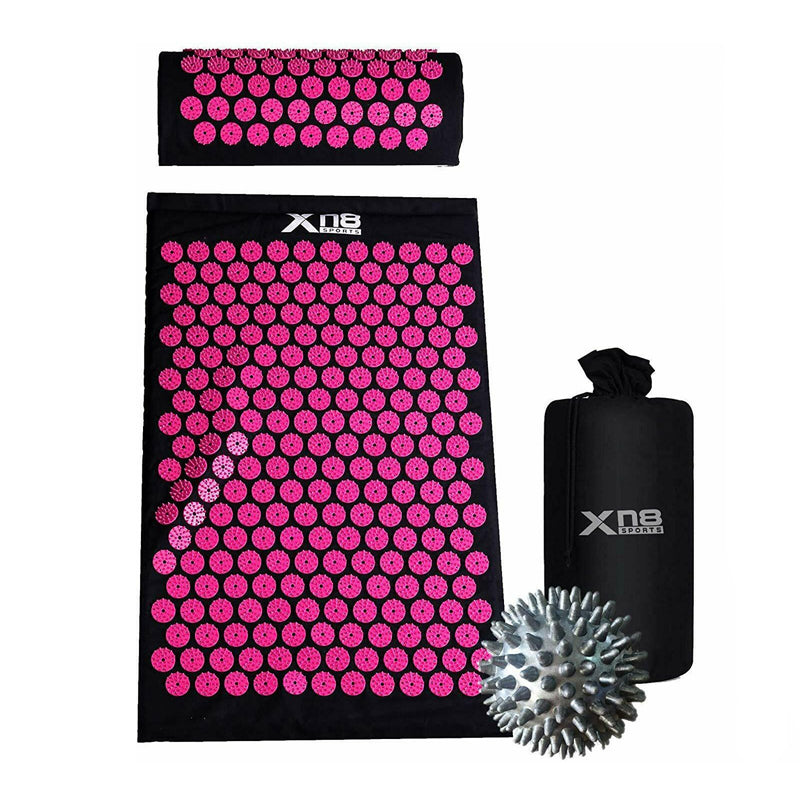 Xn8 Sports Acupressure Mat Best Pink Black