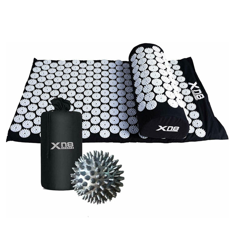 Xn8 Sports Best Acupressure Mat Black